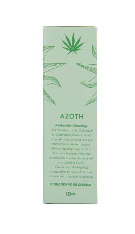 Azoth Cannabidiol Cannabis Hemp Hennep Weed Oil Better Health