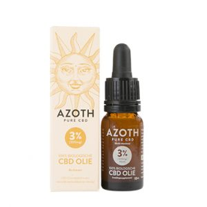 Azoth 3 Cannabidiol Cannabis Hemp Hennep Weed Oil Better Health